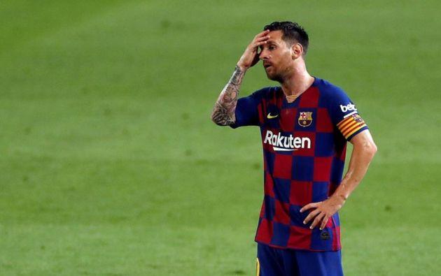 Lionel Messi. Foto: EFE.