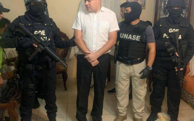 Desde el 28 de noviembre del 2019, el expresidente del CPCCS está detenido, luego de un operativo que se realizó en varias ciudades del país.