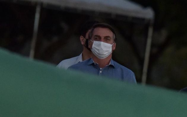 Presidente de Brasil, Jair Bolsonaro. Foto: EFE.