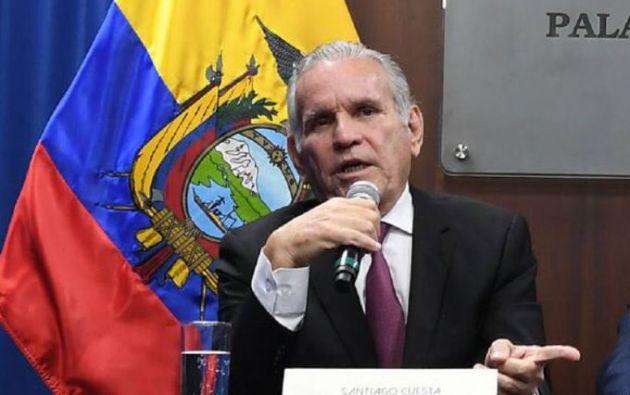 Santiago Cuesta deberá comparecer este martes 4 de agosto a las 15:00 pm.