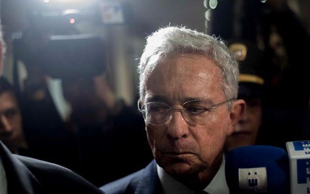 Se convierte en el primer expresidente colombiano al que se le ordena la detención. Foto: EFE