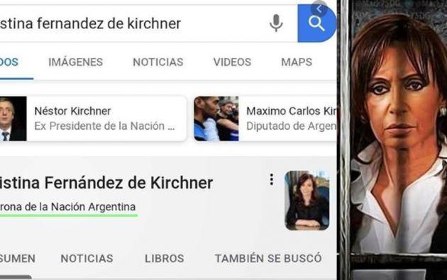 """""""¿Existe algún tipo de defensa para las personas que resultan víctimas de este tipo de acciones perpetradas por un gigante informático como Google?"""", concluyó la vicepresidenta. Foto tomada de El País Diario"""