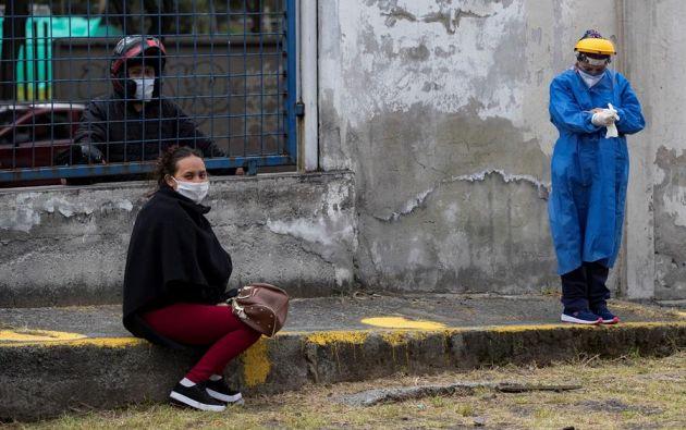 De las 24 provincias del país, Guayas es la que más contagios reporta. Foto: EFE