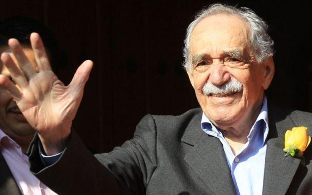 Escritor Gabriel García Márquez. Foto: EFE.