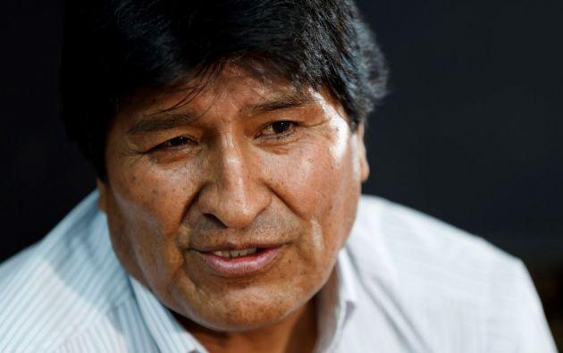Expresidente de Bolivia Evo Morales. Foto: EFE.