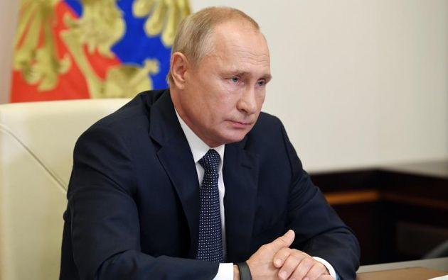 """Putin dijo que la vacuna es """"suficientemente eficaz, crea una inmunidad estable"""" y -subrayó- """"ha superado todas la verificaciones necesarias"""". Foto: EFE"""