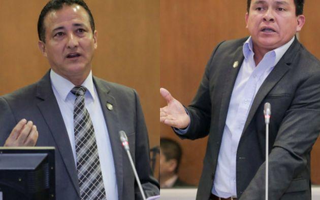 """El exdirector del Secob mencionó que recibió pedidos de """"espacios de trabajo"""" de parte de los asambleístas Fredy Alarcón y Washington Paredes."""