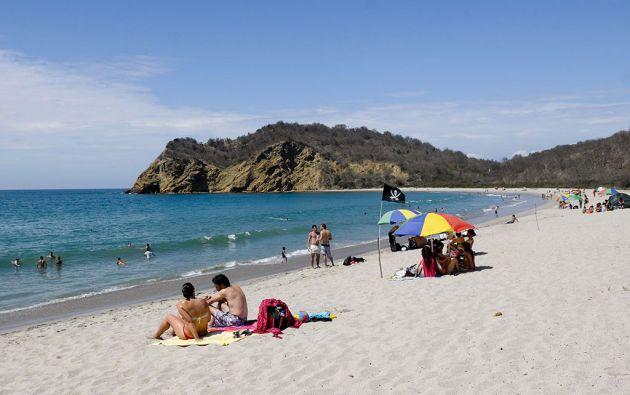 Al momento se encuentran habilitadas cuarenta playas, sin embargo, solo seis abrieron. Foto archivo