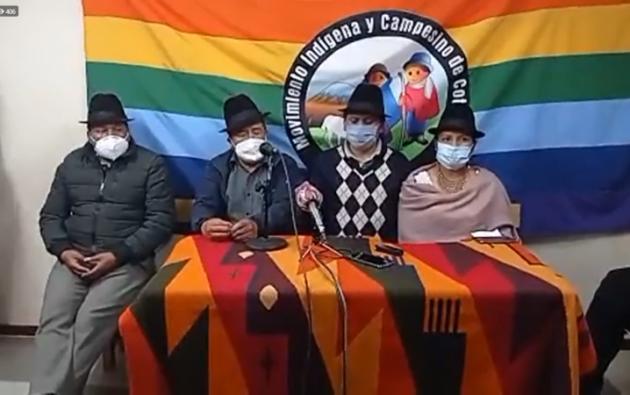 La dirigencia de la CONAIE aseguró que, por el incumplimiento de sus pedidos, las autoridades del Consejo Político de Pachakutik recibirán sanciones, que llegarían hasta la justicia indígena.