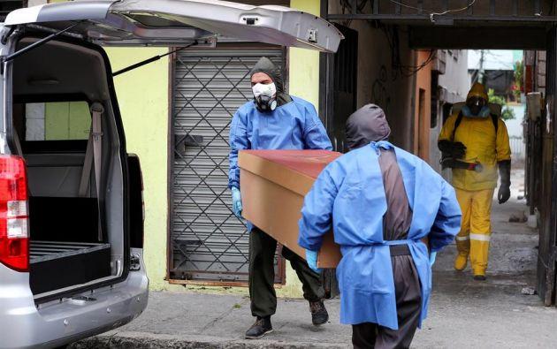 Pichincha sigue aglutinando la mayor cifra de contagios, 20.542, 32 más que en la víspera. Foto: EFE