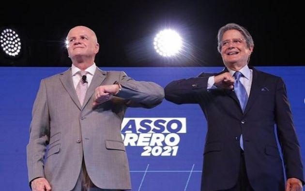 El Movimiento Creando Oportunidades (Creo) oficializó su binomio Lasso-Borrero para las elecciones de 2021.