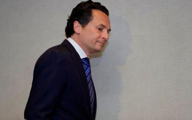 El exdirector de Petróleos Mexicanos (Pemex) Emilio Lozoya. Foto: EFE.