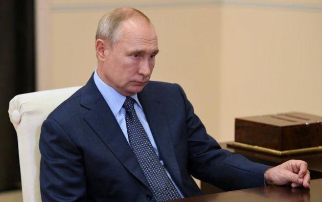 Presidente de Rusia, Vladimir Putin. Foto: EFE.