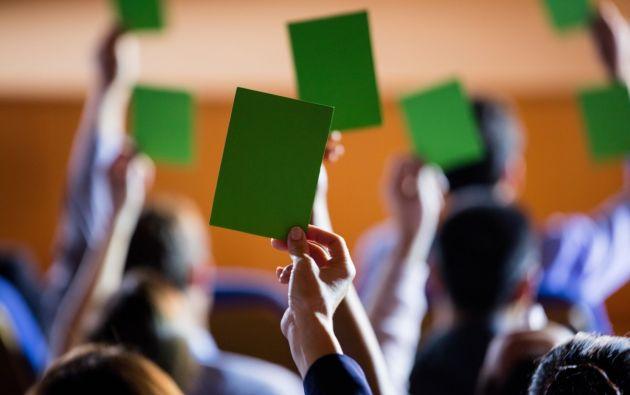 Los partidos y movimientos pueden realizar este proceso a través de convenciones, asambleas, o de forma telemática.