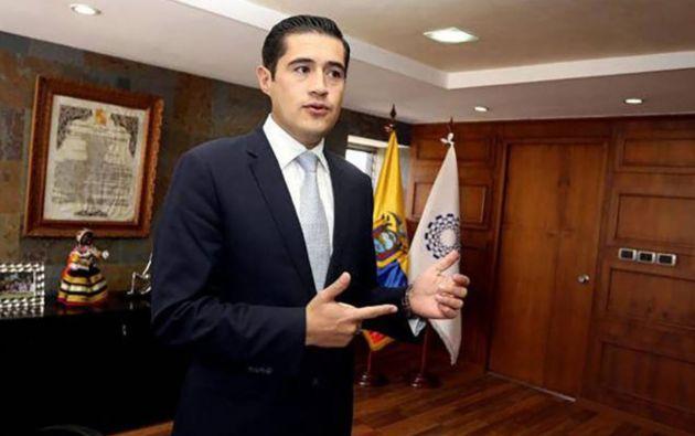 Ministro de Economía y Finanzas, Richard Martínez. Foto: EFE.