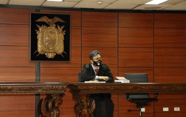 El Juez acogió el pedido de Fiscalía y negó los pedidos de revocatoria y sustitución de medidas cautelares de los procesados.