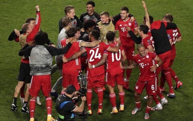 El Bayern Múnich ha sido el mejor. No hay interpretaciones posibles. Ni matices. Lo ha ganado todo en esta edición de la Liga de Campeones. Foto: EFE.