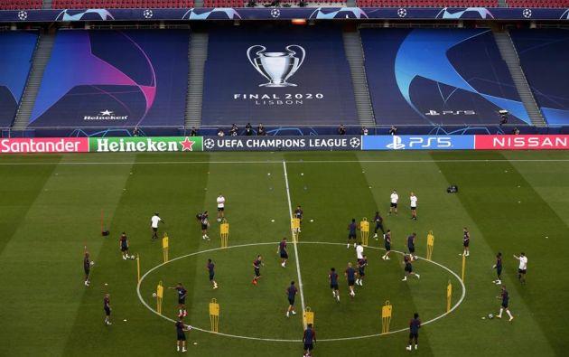 Bayern es el equipo más goleador, mientras que el PSG el menos batido de la Champions. Ambos juegan la final en Lisboa. Foto: EFE.