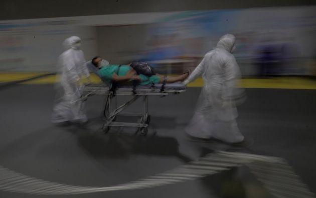Brasil acumula 114.744 muertes y 3.605.783 contagios de coronavirus desde que registró el primer caso de la enfermedad, el 26 de febrero. Foto: EFE.