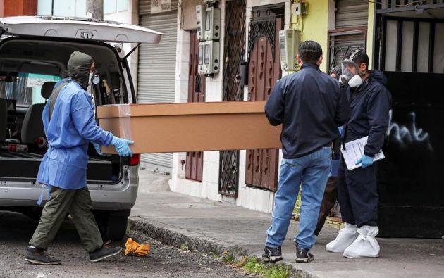 Quito suma 20.354 casos mientras que Guayaquil 12.596. Foto: EFE