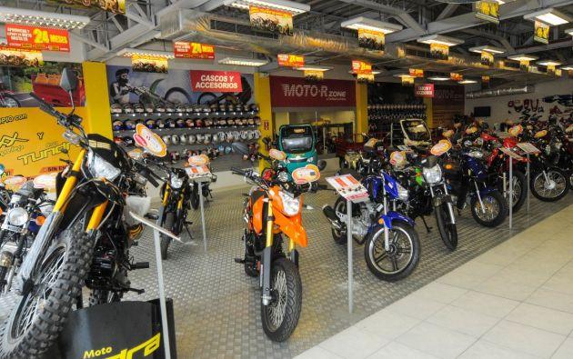 En mayo el sector automotor vendió 7.189 motocicletas. Foto Vistazo