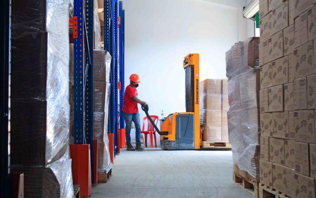 Junto al Banco de Alimentos Diakonia se logró beneficiar a más de 1'500.000 de personas.