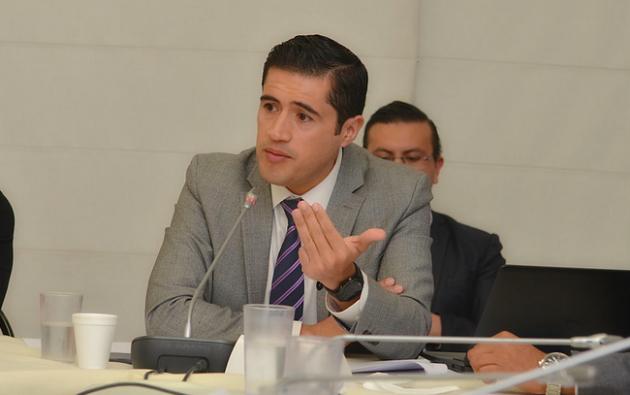 Richard Martínez, Ministro de Economía y Finanzas de Ecuador. Foto: Presidencia.