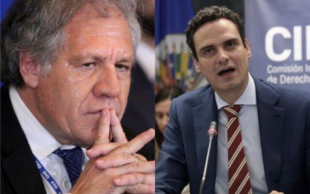 Luis Almagro, anunció hace dos días que no renovará el mandato del responsable ejecutivo de la CIDH, Paulo Abrao.
