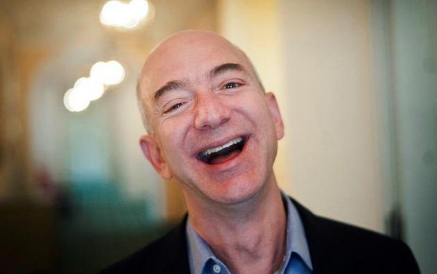 El fundador y director ejecutivo de la compañía de comercio electrónico Amazon, Jeff Bezos