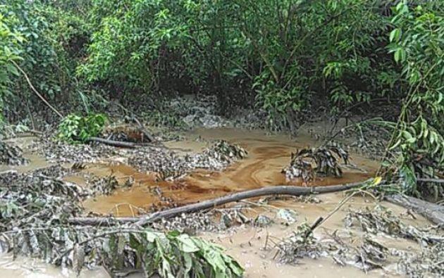 Las comunidades indígenas de la zona señalaron que el derrame afectó a la pesca y agricultura.
