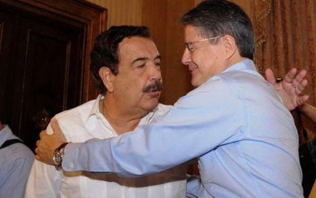 La alianza PSC-CREO respaldará la fórmula presidencial Guillermo Lasso-Alfredo Borrero.
