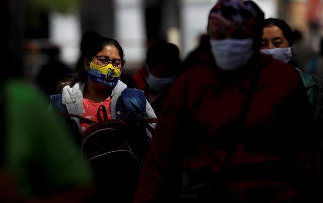 Ecuador registra hasta este martes 1 de septiembre 114.309 positivos y 6.571 decesos confirmados por COVID-19. Foto: EFE.
