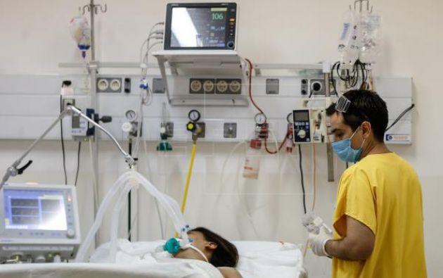 Argentina registra desde el inicio de la pandemia 428.735 personas infectadas con el virus SARS-CoV-2. Foto: EFE.