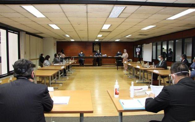Este viernes se reinstala la audiencia de casación en la Corte Nacional de Justicia (CNJ). Foto: EFE.