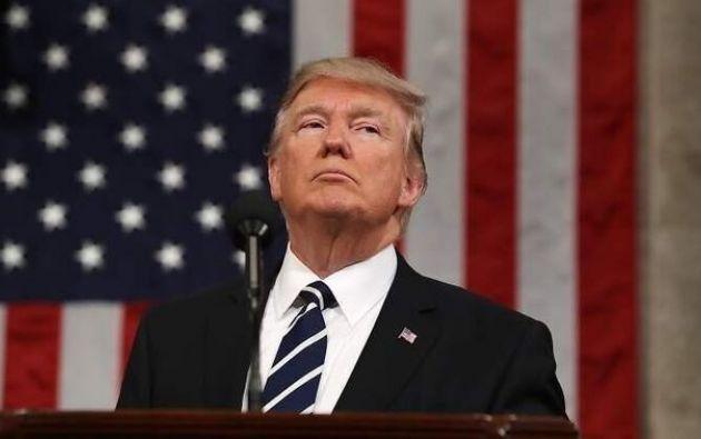 El presidente de EEUU, Donald Trump, busca una reelección este 2020. Foto: EFE