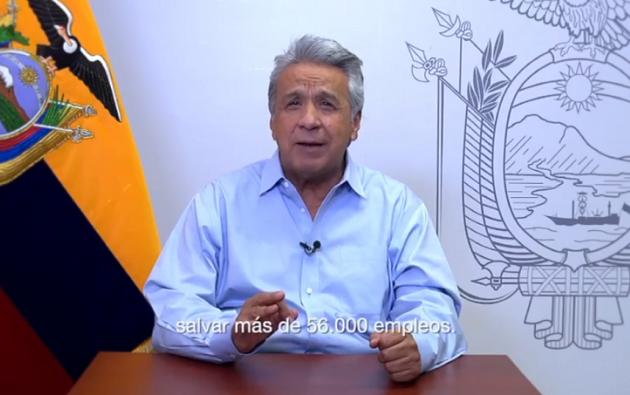 Según Moreno, se ha logrado proteger el empleo y facilitar la creación nuevas plazas.