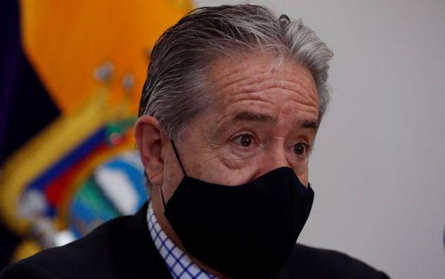 """""""Aprendimos, y este es el mensaje a Europa: esta pandemia no se va a acabar a nivel de hospital, es en la periferia"""", enfatizó el ministro de Salud. Foto: EFE"""