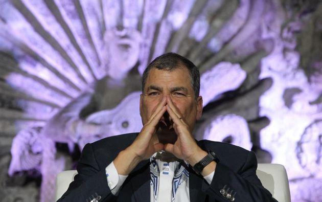 Con la confirmación de la condena, Correa queda inhabilitado para participar en las elecciones. Foto: EFE