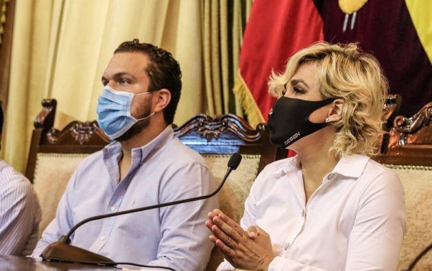Viteri realizó algunos anuncios para contrarrestar los efecto negativos de la pandemia en la economía.