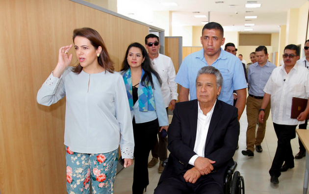El CAL admitió este martes a trámite una solicitud de juicio político contra Romo. Foto: Presidencia.