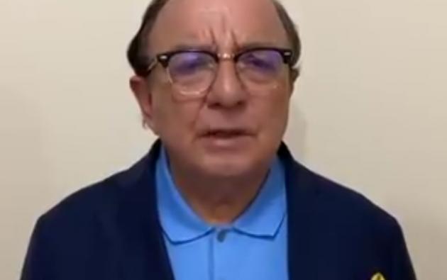 Cancelación del partido 'Adelante Ecuatoriano Adelante' (AEA), que pertenece al empresario bananero Álvaro Noboa.