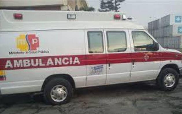 Salcedo tuvo que se internado en un hospital, donde había llegado en primera instancia para para cumplir una cita médica.