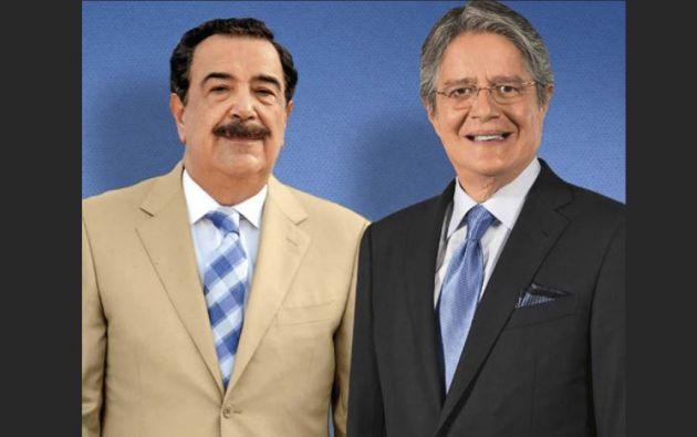 Jaime Nebot Saadi, Partido Social Cristiano (PSC) y Guillermo Lasso, Movimiento Creando Oportunidades (CREO).