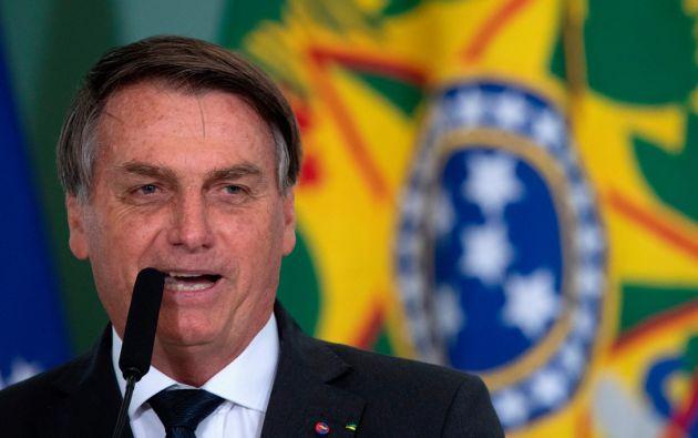 El presidente de Brasil, Jair Bolsonaro. Foto:EFE