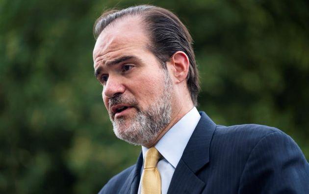 Mauricio Claver-Carone se convirtió en el primer líder no latinoamericano en la historia del organismo multilateral. Foto: EFE