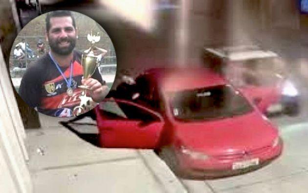 El ciudadano fue atropellado cuando se disponía a subir a su vehículo.