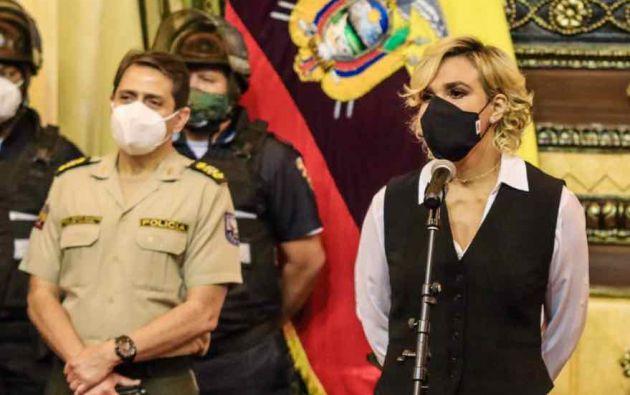 En Guayaquil, la alcaldesa Cynthia Viteri dijo que busca mecanismos para sancionar de forma más contundente a quienes beban alcohol en las calles. Foto: Municipio de Guayaquil.