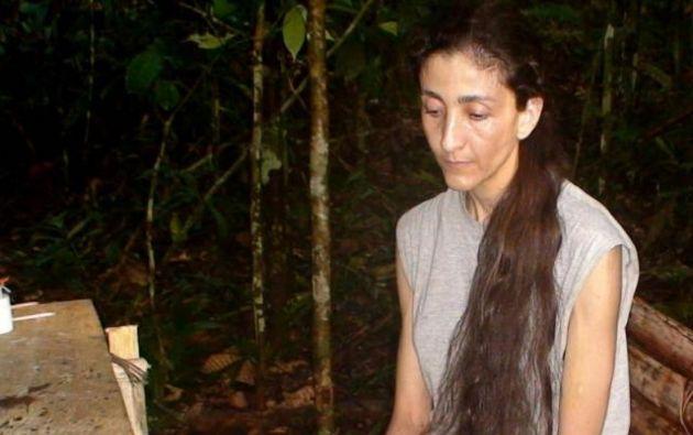 Betancourt y su asesora fueron secuestradas en 2002 en el departamento colombiano del Caquetá.