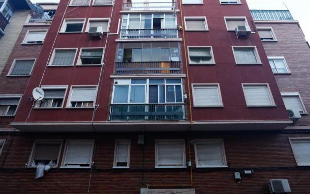 El crimen ocurrió en el barrio Las Delicias, en Zaragoza, España.