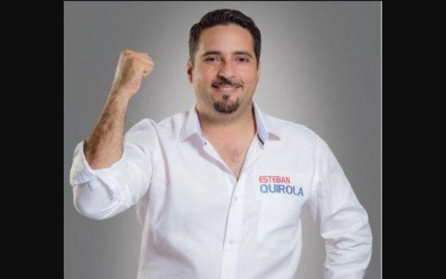Quirola, de 41 años, fue Prefecto del Oro, es economista y empresario.